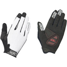 GripGrab SuperGel XC Touchscreen Full Finger Gloves white